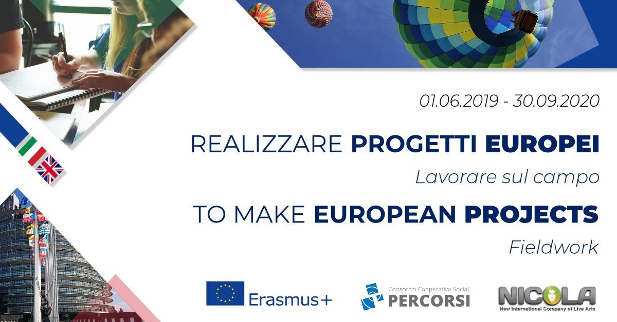 Parte il corso sperimentale di europrogettazione gratuito e on-line organizzato dal Consorzio Percorsi